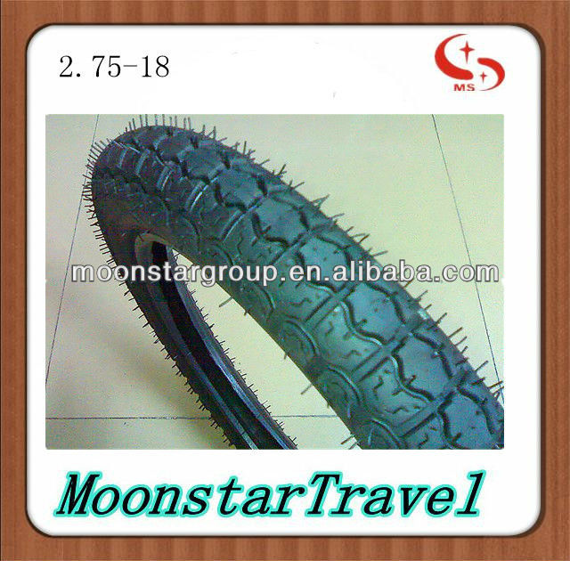 2.75-18 good quality rubber motorcycle tyre