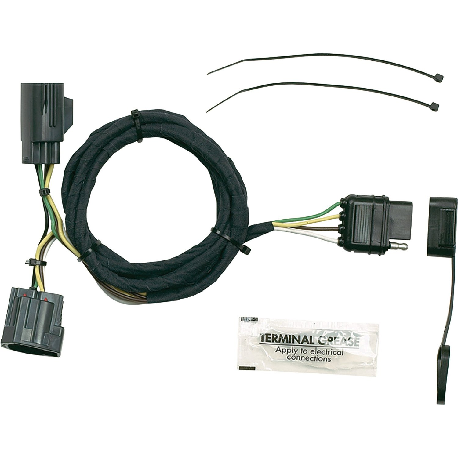 Get Quotations · Hopkins Towing Solutions Wiring Kit - Fits 2007-2013 Jeep  Wrangler, Model# 42635