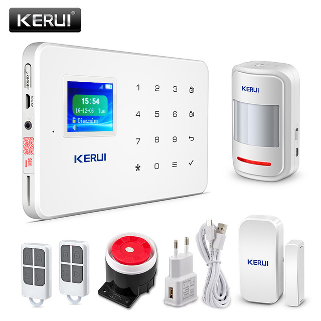 Kerui Wireless G18 APP control GSM Smart Safe Home Anti-burglar Security Alarm System
