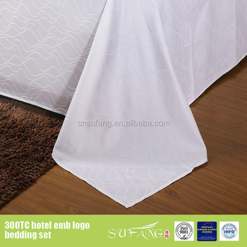 100 cotton cheap used hotel bed sheets room linen size