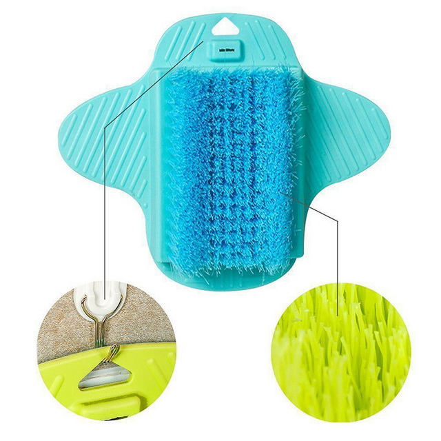Foot Spa Bath Massager Cleaning Brush Shower Foot Scrubber