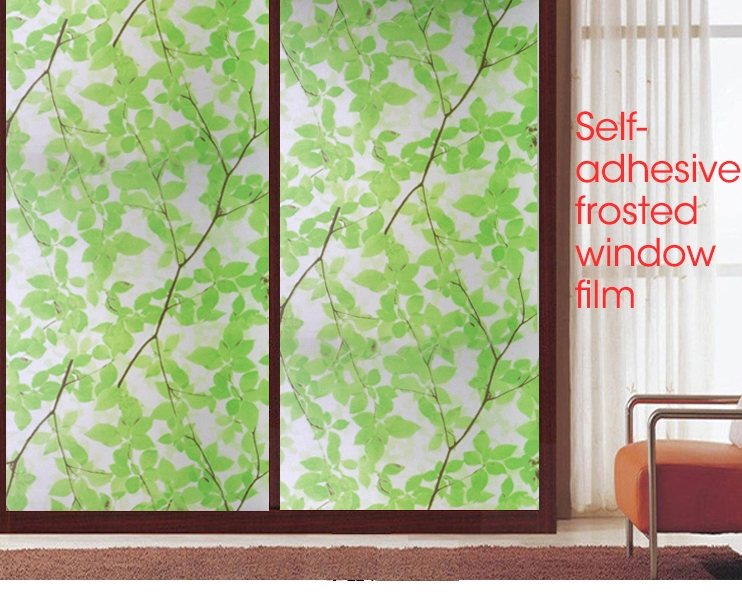 Translucent Frosted Opaque Self-adhesive Film Frosted Glass Film Privacy Window Film