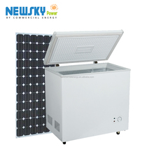 433L Home refrigeration DC 12V solar powered deep freezer
