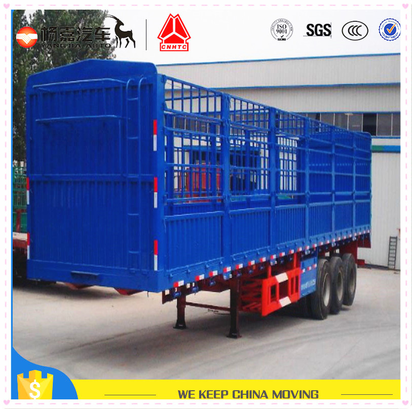 Small dump trailer with hydraulic pump for ore transportation low price