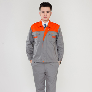 customized workwear uniform high quality work clothes manufacturer China breathable industrial uniforms guangzhou clothing