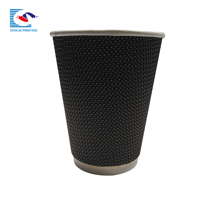 SENCAI wholesale customized logo reusable coffee up with sleeve