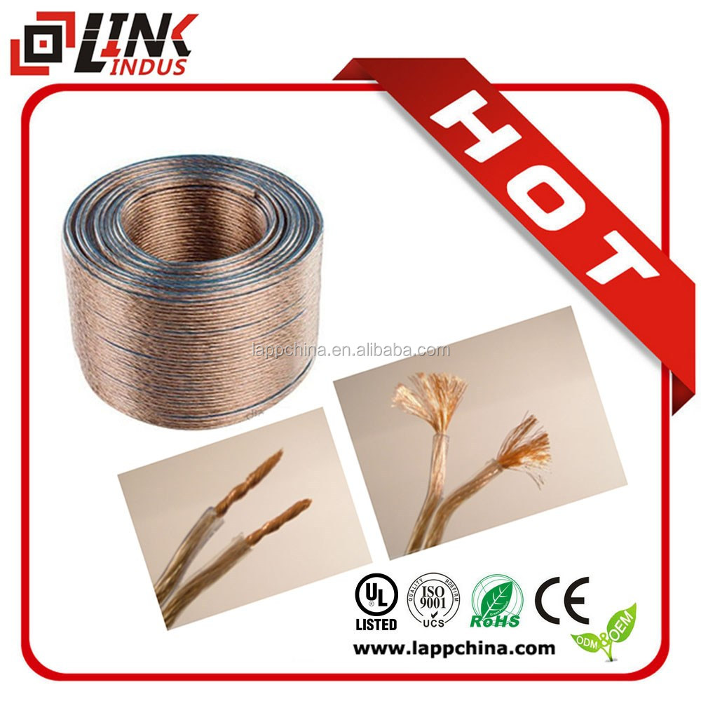Indoor/outdoor high end and low noise copper speaker cable wires