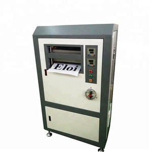 Automatic A4 UV ID Card Lamination Machine for RFID Card
