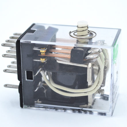 Hot sale Spdt Open Circuit Relay Pcb Power Relay with Diaphanous Plain Cover