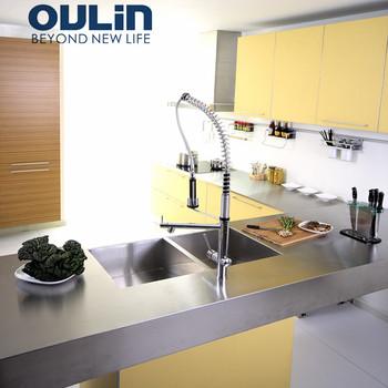Siap Merakit Aluminium Dapur Cabinet