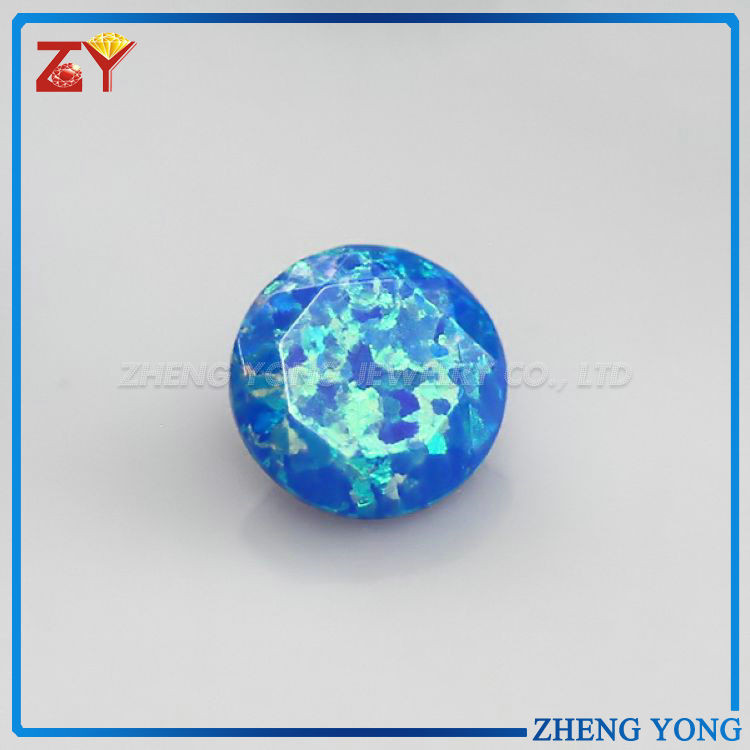 Diamond Cut Synthetic Opal,Synthetic Opal Jewelry,Ethiopian Opal Beads