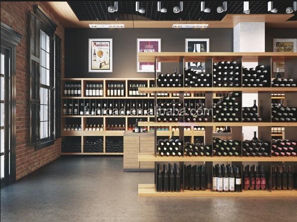 Todo el mundo lo mejor vino de calidad accesorio tienda display estanterias para dise o de la - Estantes para vinos ...