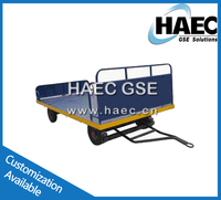 airport cargo floor trailer ground support equipment