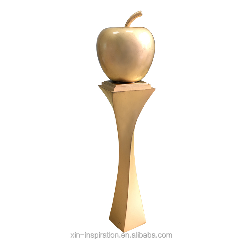 Customized gold medal trophy cup metal trophies made in china