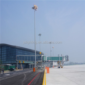 30m Street Lighting High Mast Lighting Pole/Auto Lifting Pole From China Supplier