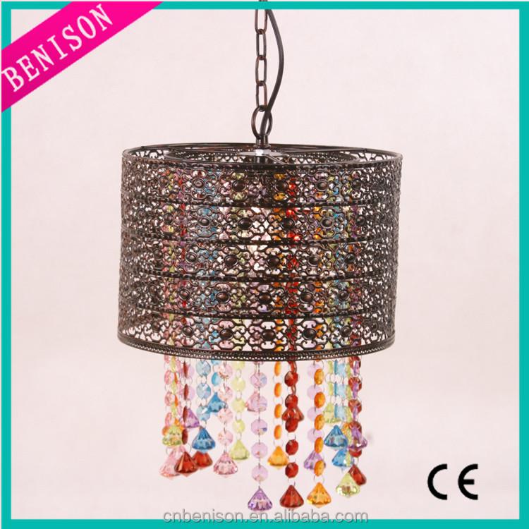 Hot Selling Modern Crystal Pendant Light Colorful Pendant Lamp ...