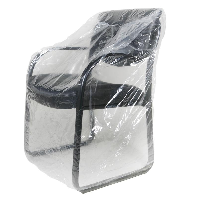 Eco Friendly 20mic Square Bottom Plastic Sofa Cover For