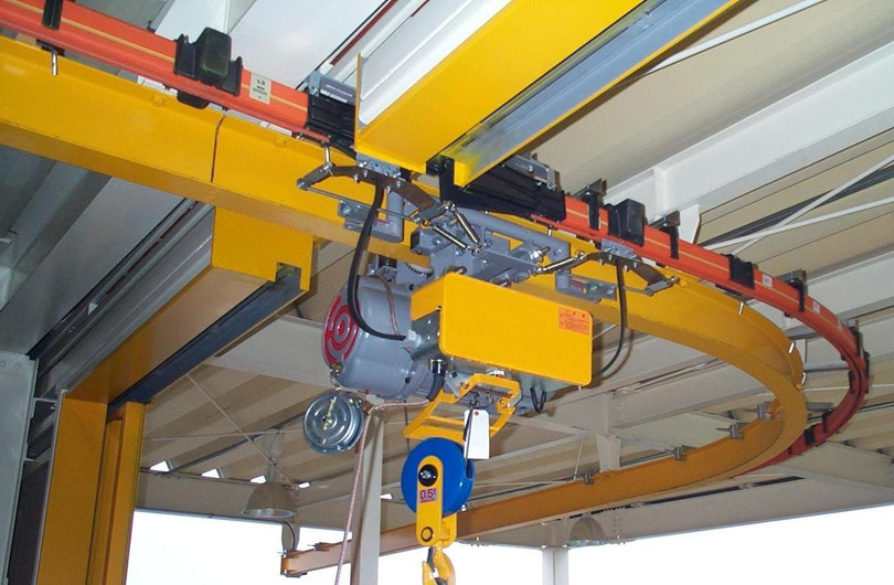 3 16 Poles Safe Tubular Copper Bus Bars Crane Conductor