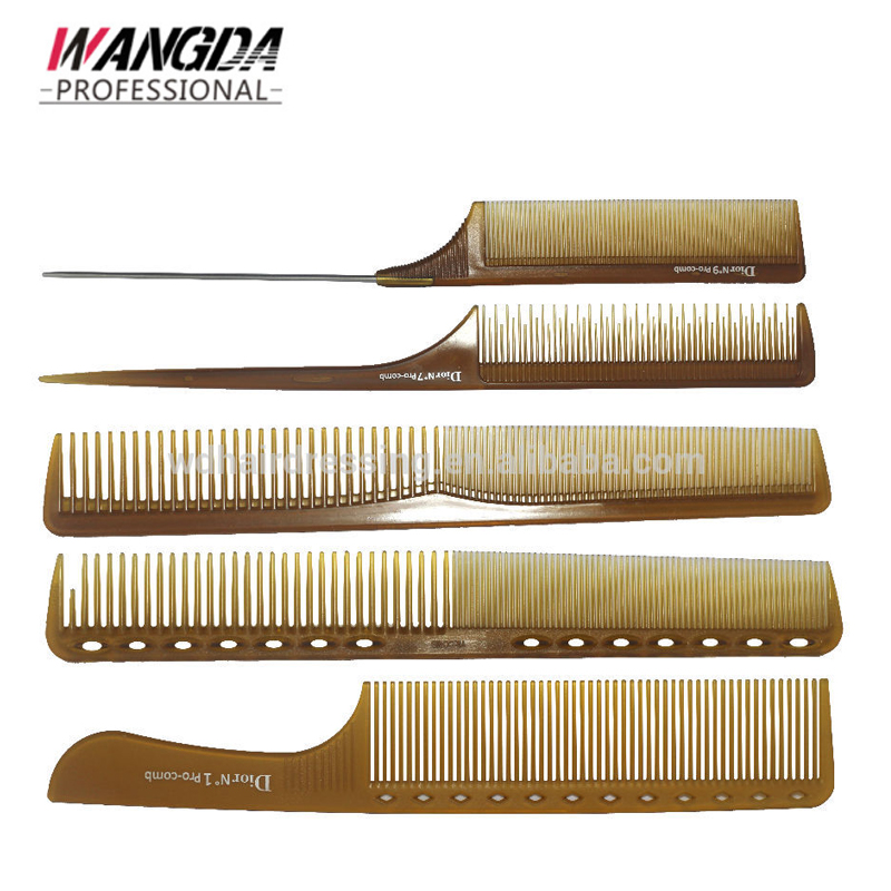 Hairdressing Cutting Comb Rat Tail Handle Comb Plastic Comb Set , Buy Hair  Cutting Comb,Wholesale Hair Brush,Beauty Star Hair Comb Product on
