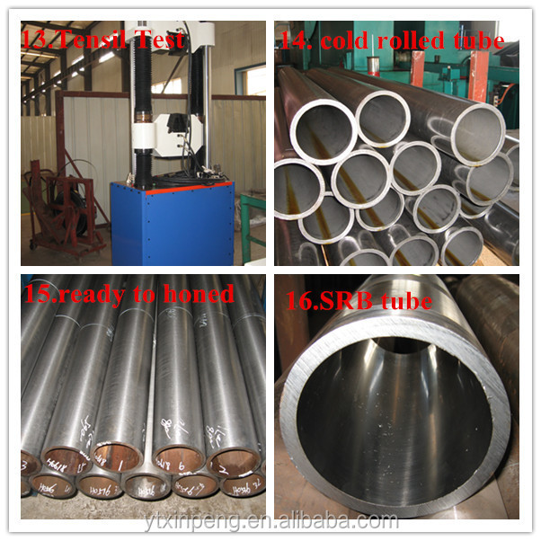 chinese supplier cold drawn cold rolled carbon seamless tube