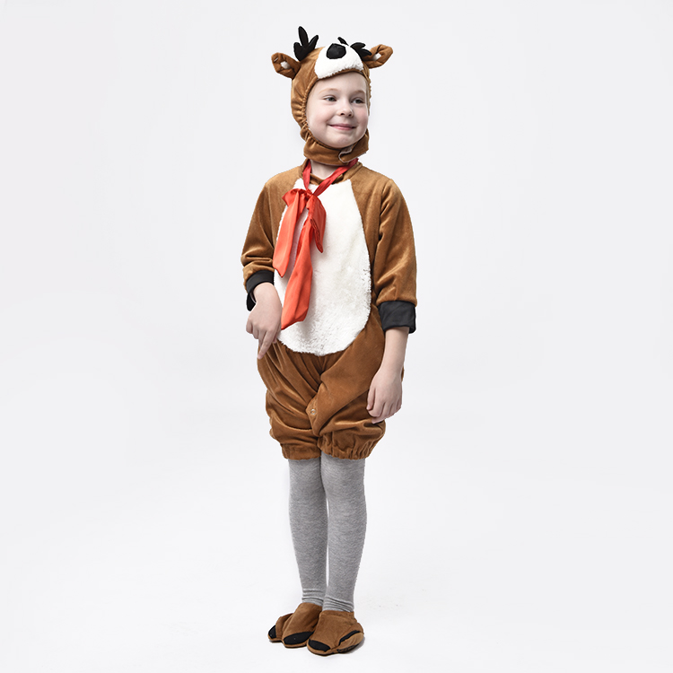New design funny Christmas party animal Deer costume for children