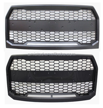 Car Body Parts Front Grille Grill For Ford F150 2015 2017 Raptor Style Auto Body Parts Bumper Grille Buy Front Grill For Ford Front Grilles For