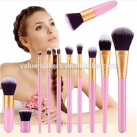 Wholesale High quality wooden face cleaner make up cosmetic professional makeup brush single brush Hot Sales In alibaba