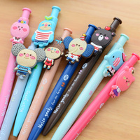 Manufacture Wholesale Cheap Best Quality Custom Cartoon Topper Clip with Ball Pen