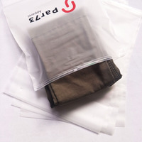 Matte EVA Ziplock Bags With Custom Logo Design, Garment Clothes Packing Bag Swimwear Waterproof Plastic Packaging Bag