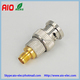 gold BNC male to SMA female RF adaptor adaptor converter connector