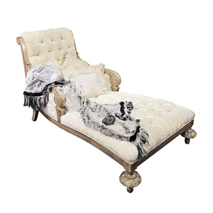 French Style Luxury Chaise Lounge