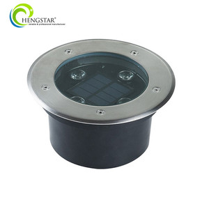 IP67 waterproof roadside 2w Solar inground light led underground light