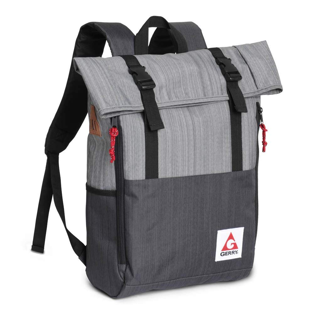 Get Quotations · Gerry Outdoor - Chaffee Heathered Roll Top Backpack 3eab49d5821d9
