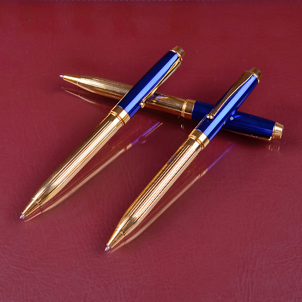 INTERWELL BPM321 Gold Pen, High Quality Metal Pen Set, Pen Gift Giving
