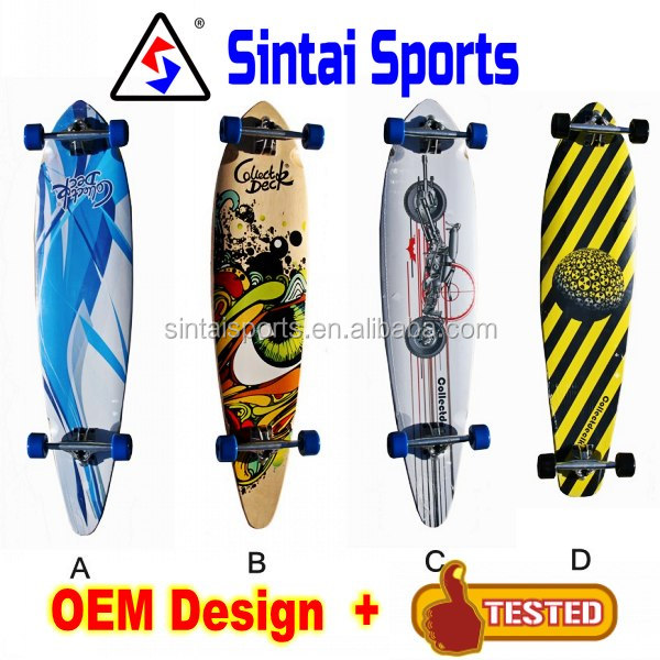 2017 new Design Longboard Skateboard with CE