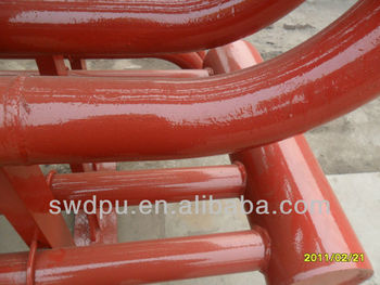 prilling tower special polyurethane wear resistance coating
