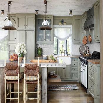 Prefabricar Gabinetes De Cocina Con Muebles Accesorios Hechos En ...