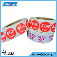 Printing the cheap Digital price promotion label