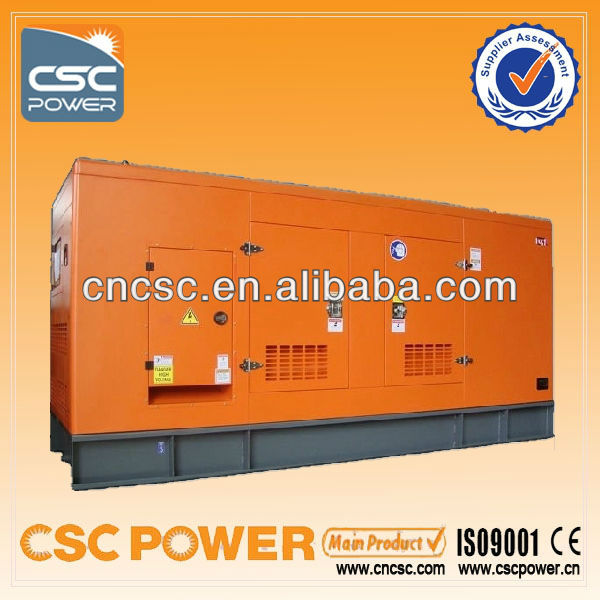 CSC POWER !! 500kw with cummins engine genertor cheap price