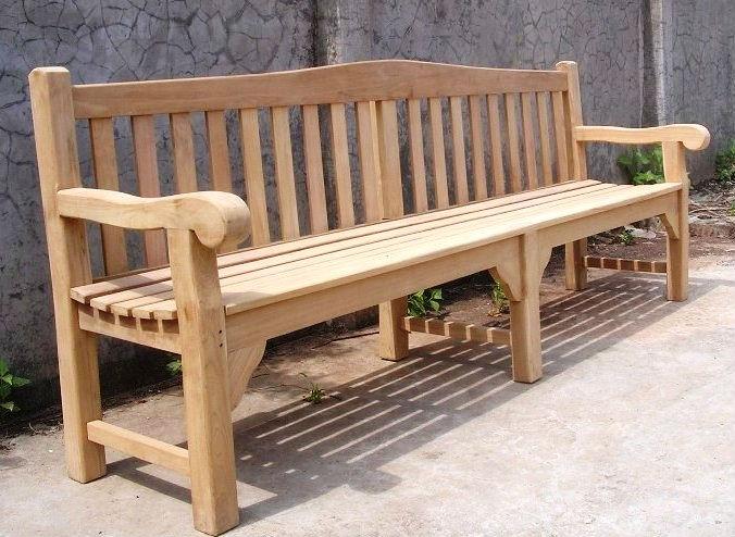 teakholz gartenbank oxford 240cm holzst hle produkt id 137534772. Black Bedroom Furniture Sets. Home Design Ideas