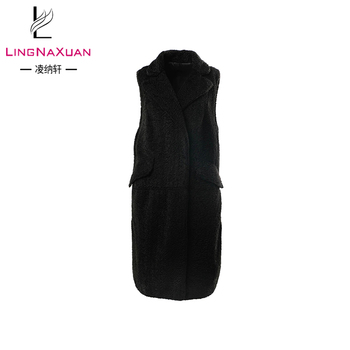 6967d2039a660 Latest Black Bomber Winter Sleeveless Jacket For Women - Buy Girls Winter  Jacket