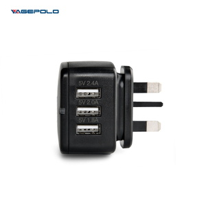 high speed charger for mobile phone cell phone charge dual usb travel charger eu to uk adapter for htc/apple charger
