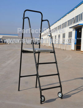 Portable Steel Tennis Umpire Chair / Volleyball Referee Chair / Judge Stand