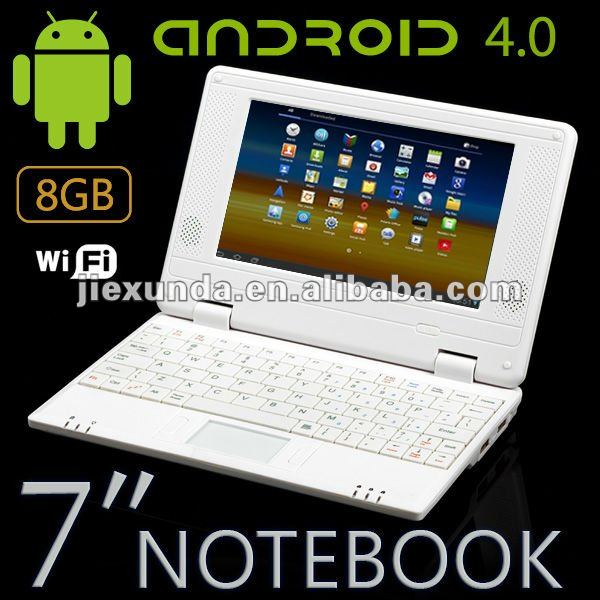 7inch Allwiner A10 Android 4.0 Mini Laptop