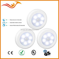 6SMD LED motion sensor light for indoor, wardrobe and so on