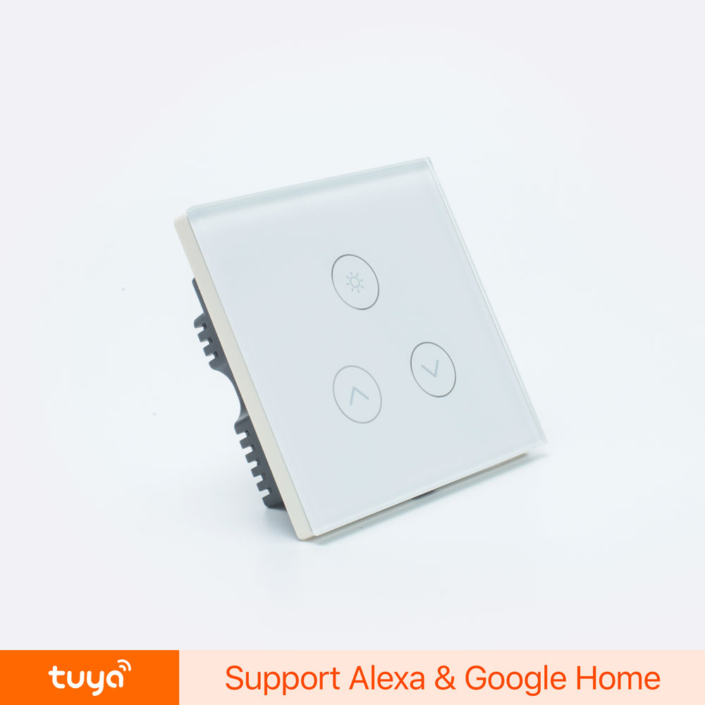 Tuya Smart Ac100-250v Wirelessly Controlled Wifi Dimmer Switch For Lights -  Buy Wifi Dimmer Switch,Wirelessly Controlled Wifi Dimmer Switch,Ac100-250v