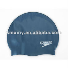 Nude Novelty Printed Silicone Swimming Cap