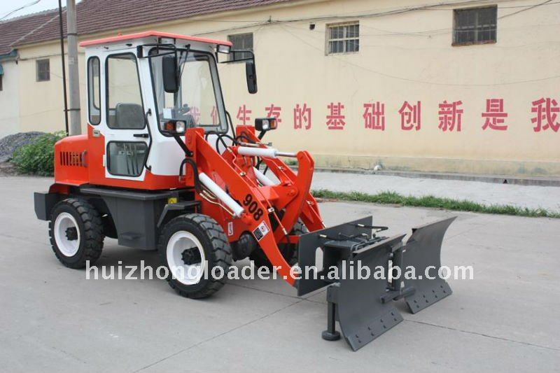Low price quick hitch compact wheel loader zl08