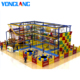 YL-TZ003 TUV Certificated Shopping Mall Commercial Kids Indoor Development Zone Rope Playground Equipment Set