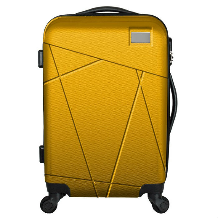Promotional Gifts Trolley plane Luggage and cabin airport Luggage <strong>ABS</strong>+PC Trolley Suitcase with high quality
